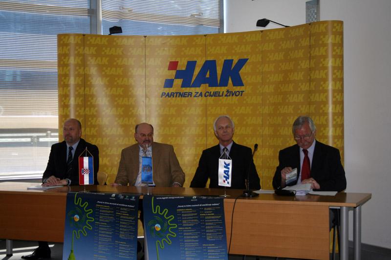 Predstavnici HAK-a, Energetskog Instituta Hrvoje Požar i Grada Zagreba