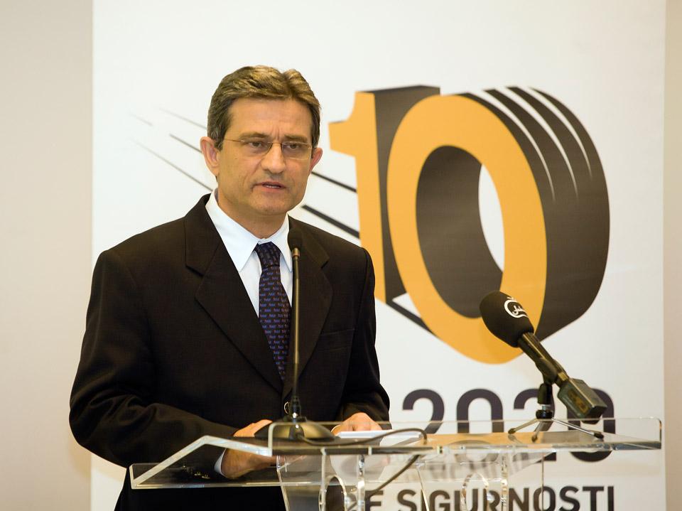 Predsjednik Hrvatskog sabora, g. Boris Šprem u obraćanju prisutnima tijekom svečanog obilježavanja Dana HAK-a (1)