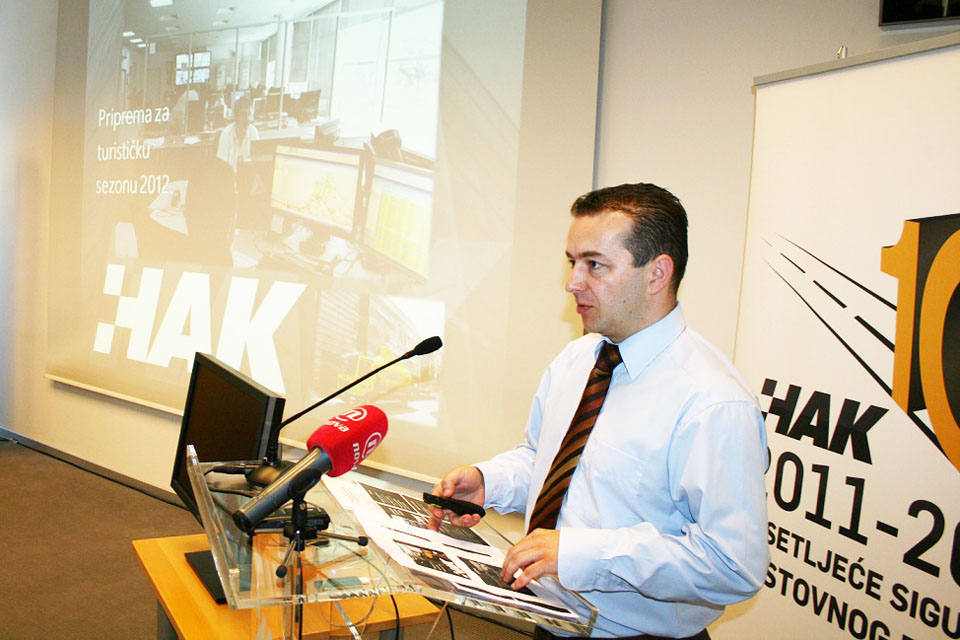Marijan Rimac, voditelj Kontaktnog centra HAK-a