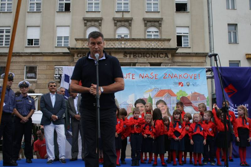 Predsjednik Autokluba Siget dr. sc. Damir Škaro