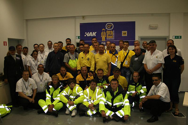 Zajednička fotografija natjecatelja i organizatora