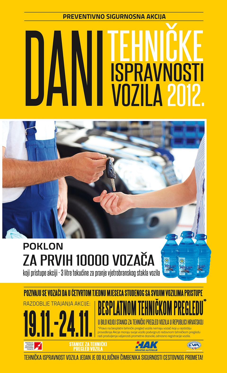 Dani tehničke ispravnosti vozila 2012.