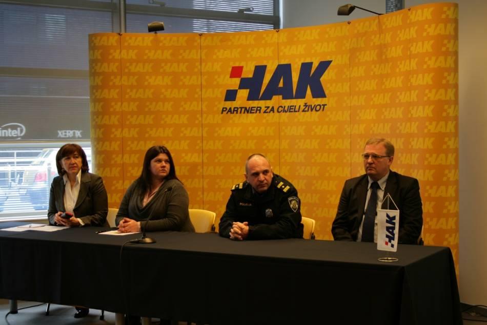 Mila Jelavić, Dijana Uljarević, Josip Mataija i Damir Novak