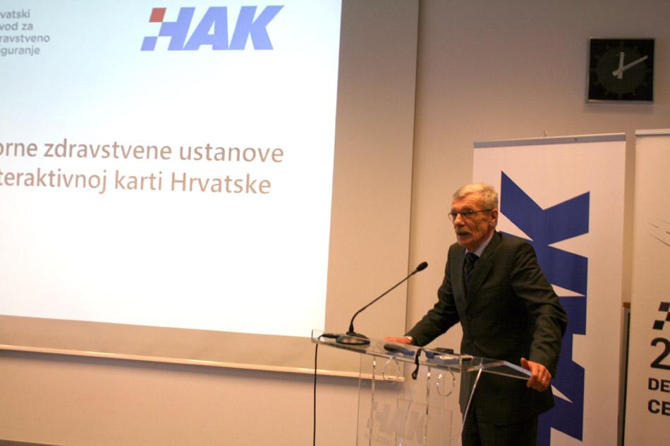 Glavni tajnik HAK-a, g. Zvonko Šmuk