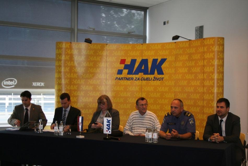 Igor Novačić, Tomislav Petanović, Ljiljana Mikuš, Ljupko Šimounović, Josip Mataija i Krunoslav Tepeš