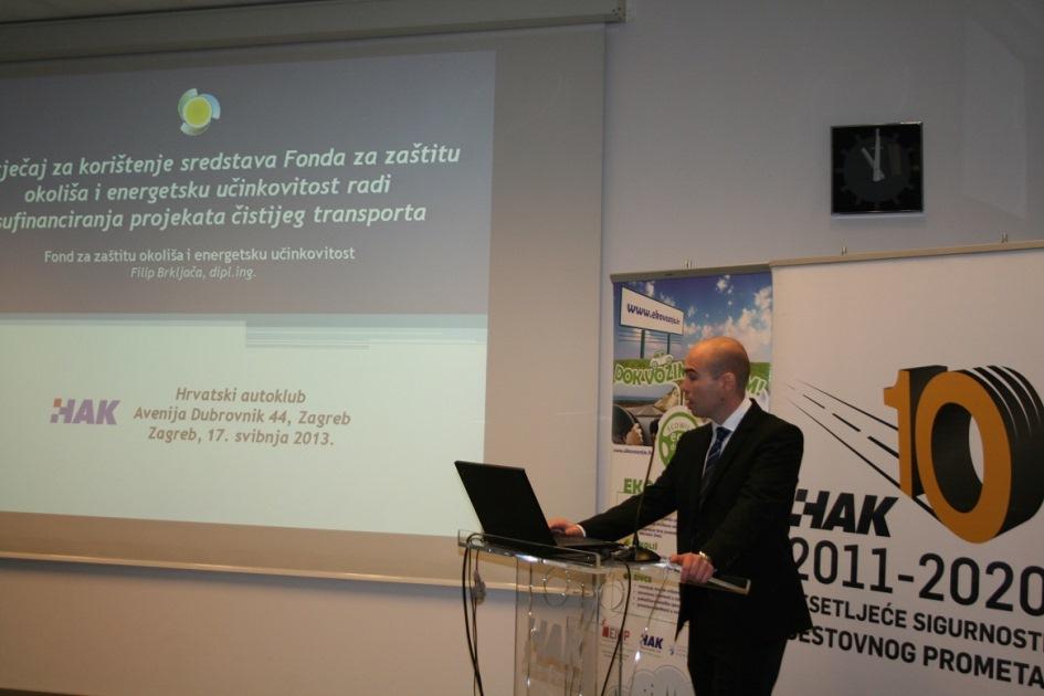 Filip Brkljača iz Fonda za zaštitu okoliša i energetsku učinkovitost