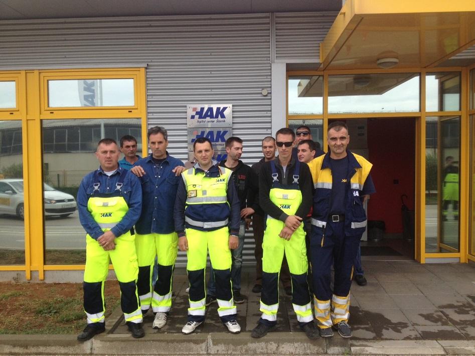 Seminari prve pomoći za radnike na poslovima pomoći na cesti