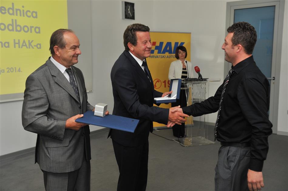 Dobitnici priznanja za postignute rezultate u djelatnosti pružanja tehničke pomoći članovima