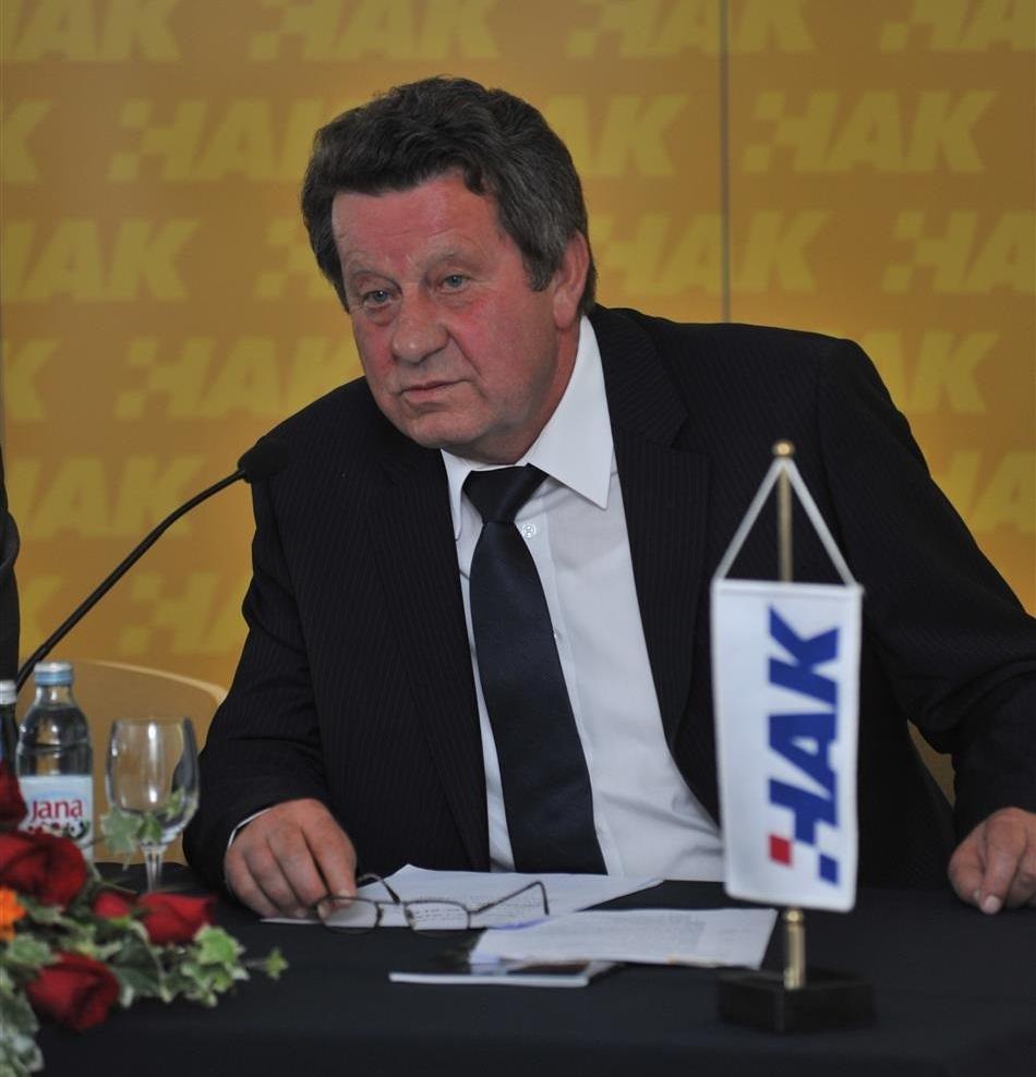 Predsjednik HAK-a Slavko Tušek
