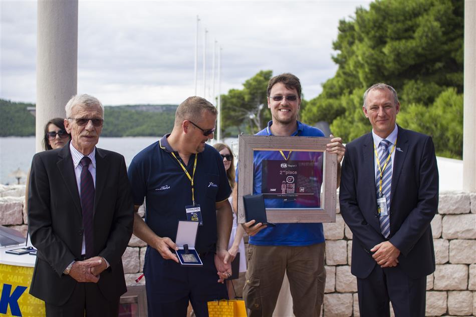Drugoplasirani na 11. Međunarodnom natjecanju mehaničara u Šibeniku