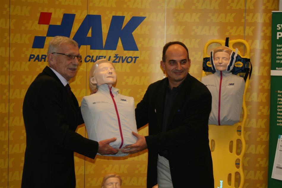 Projekt: I Ti možeš spasiti život - Dr. Igor Bićanić i Glavni tajnik HAK-a Zvonko Šmuk