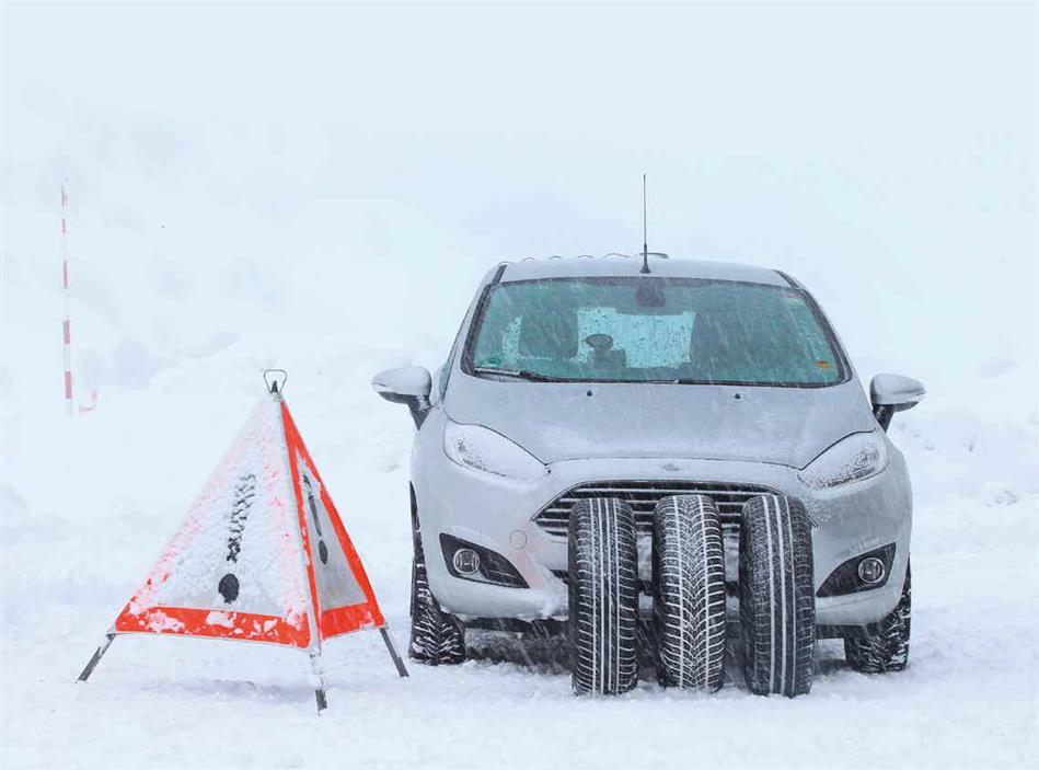 Vozači u zimi bez nužne opreme