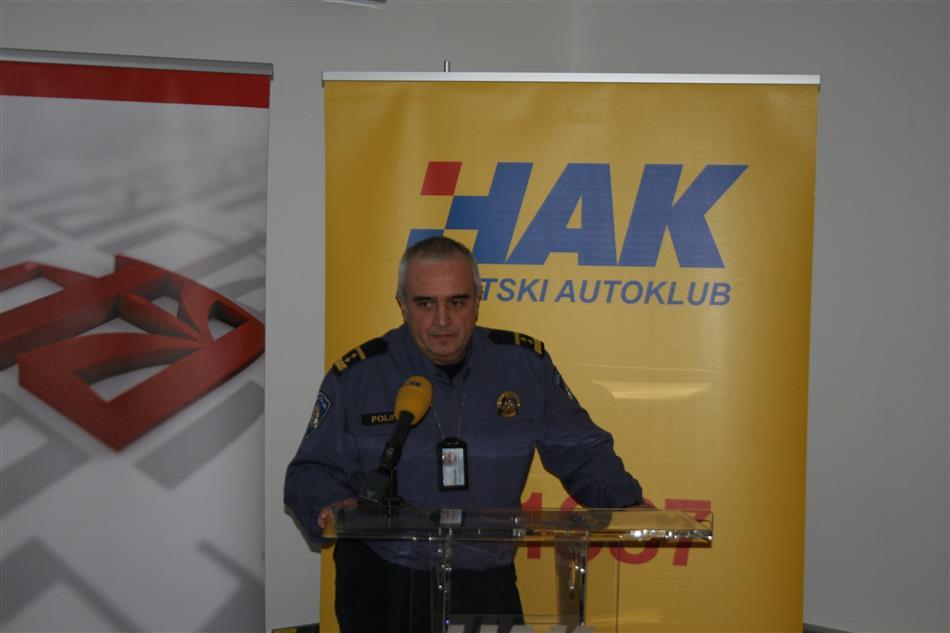 Miron Huljak iz Ravnateljstva policije