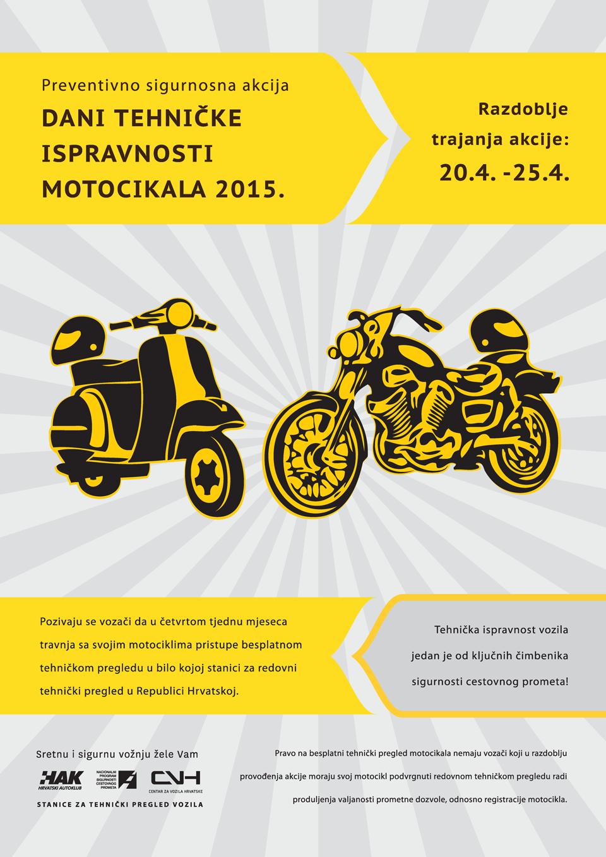 Dani tehničke ispravnosti motocikala 2015.