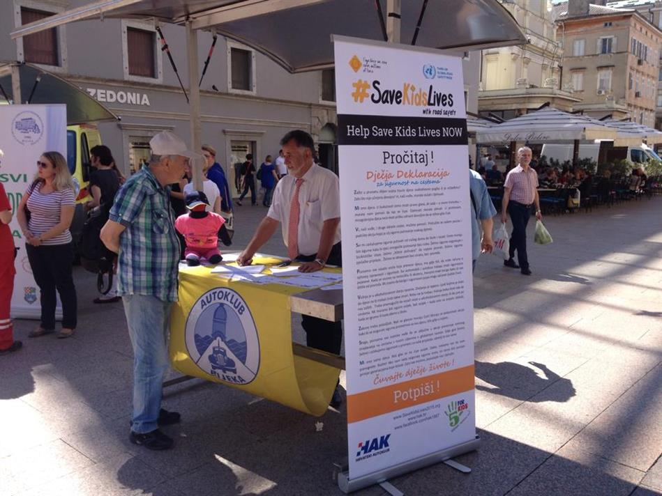 Akcija HAK-a i Autokluba Rijeka: tjedan sigurnosti cestovnog prometa
