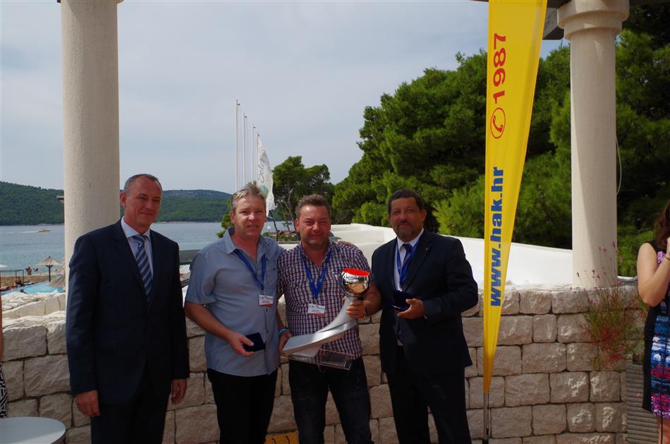 Pobjednici s predstavnicima FIA Regije I i ARC Europe