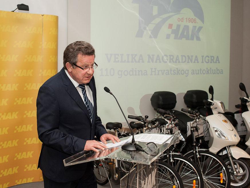 Predsjednik HAK-a g Slavko Tušek