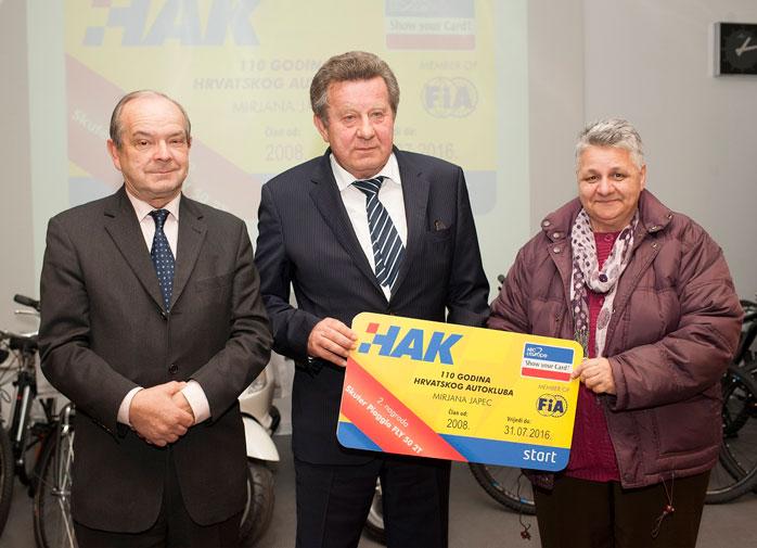 Dobitnica druge nagrade Mirjana Japec