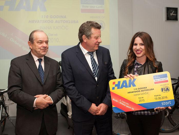 Dobitnica četvrte nagrade Ivana Katičić