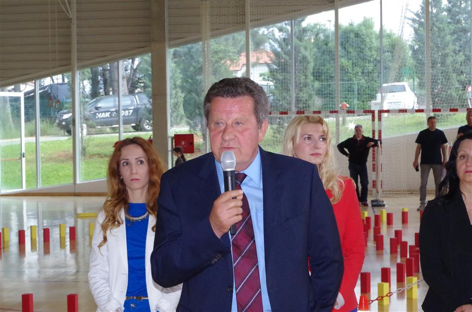 """Predsjednik HAK-a g. Slavko Tušek - Državno natjecanje """"Sigurno u prometu"""" - Pula 2016"""