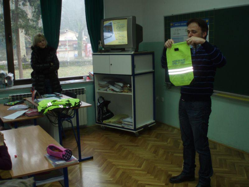 Minuta u prometu - edukativna akcija AK Pazin
