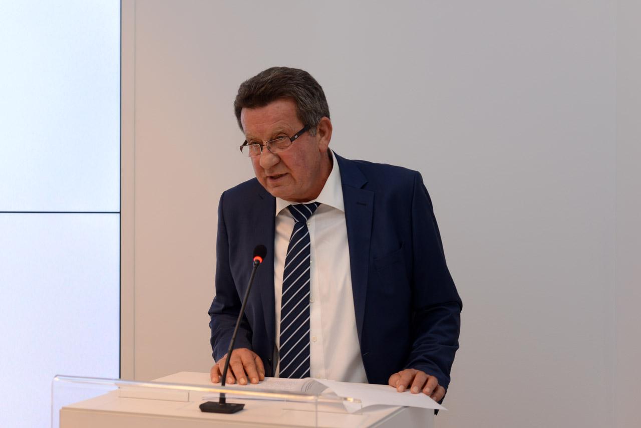 Predsjednik HAK-a, g. Slavko Tušek u obraćanju nazočnima