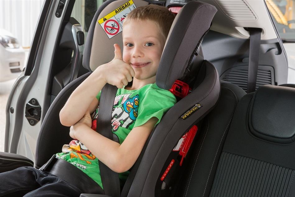 Rezultati testiranja dječjih autosjedalica