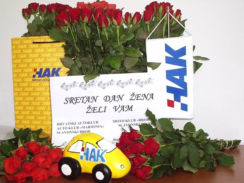 Crvene ruže Autokluba Marsonia za žene Slavonskog Broda