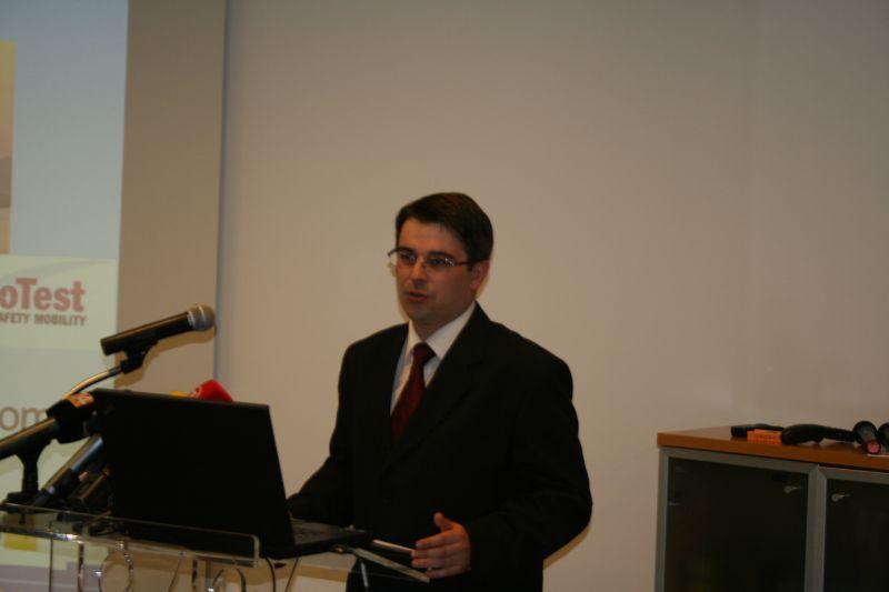 Zamjenik voditelja EuroTest projekta u HAK-u Igor Novačić