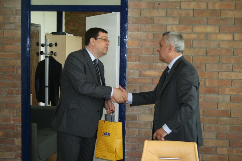 Ministar turizma RH Damir Bajs i predsjednik HAK-a Ivo Bikić