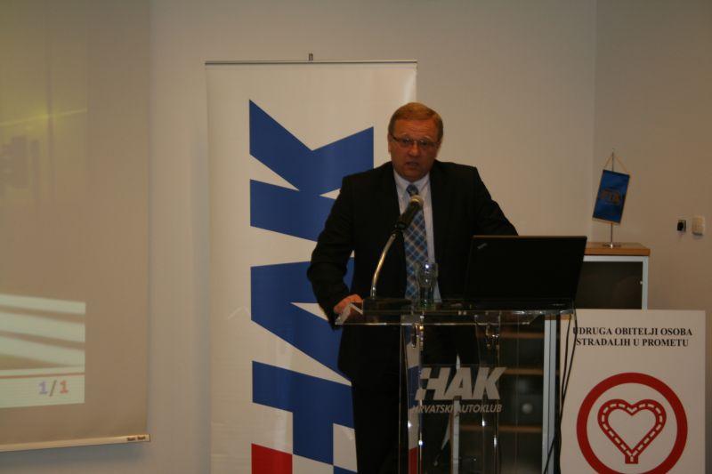 Damir Novak, voditelj Odjela prometne prevetive i sigurnosti (Hrvatski autoklub)