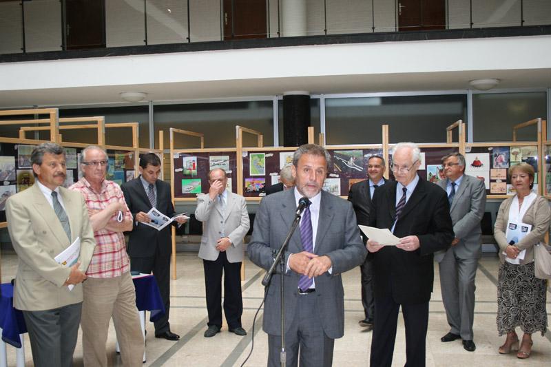 Gradonačelnik Milan Bandić otvara Salon autokarikature