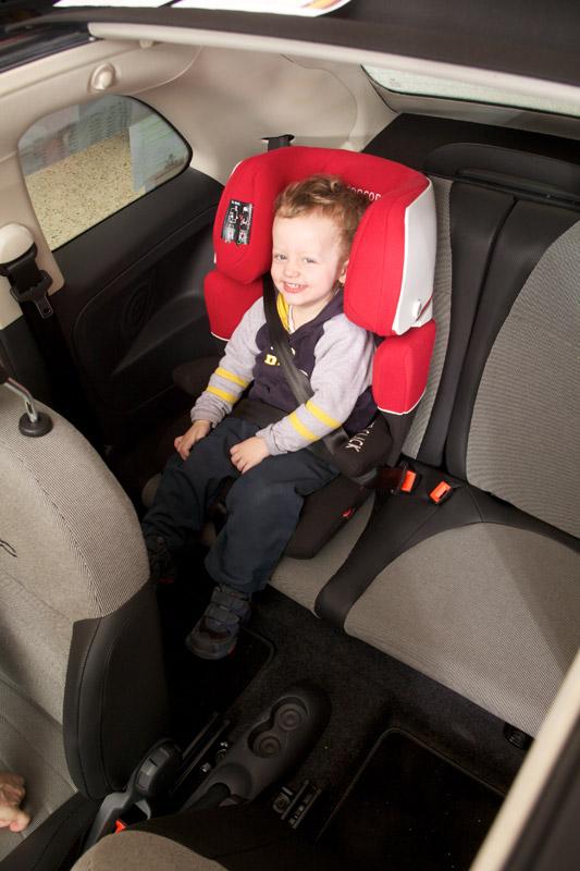 Test dječjih sjedalica