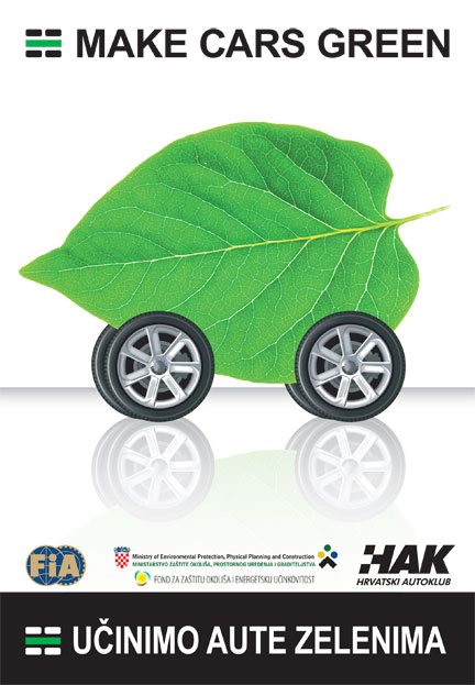 Knjižica Učinimo aute zelenima