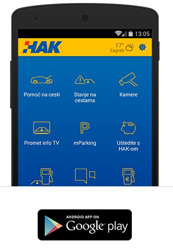 HAK za Android