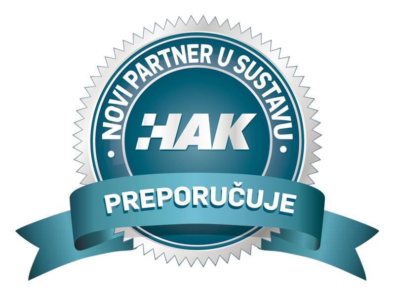 Novi partneri u sustavu HAK Preporučuje
