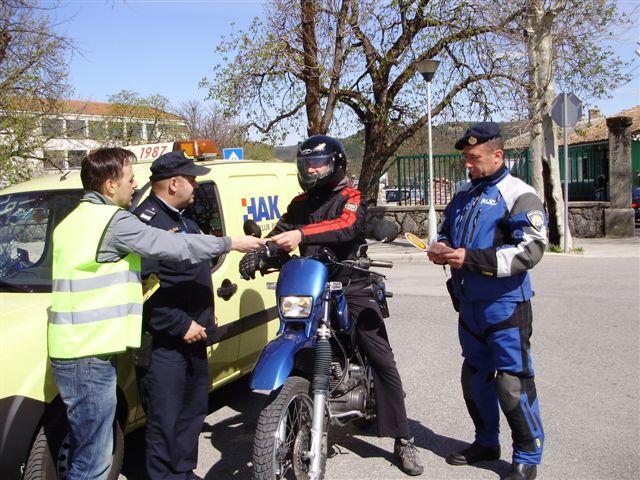 """Sigurnost na prvom mjestu: """"Policija i građani voze zajedno"""""""