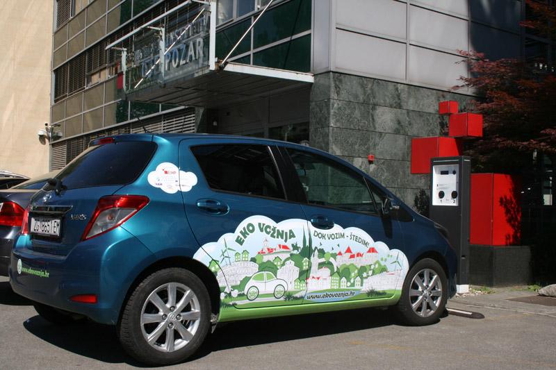 Toyota Yaris, službeno vozilo projekta Ecowill