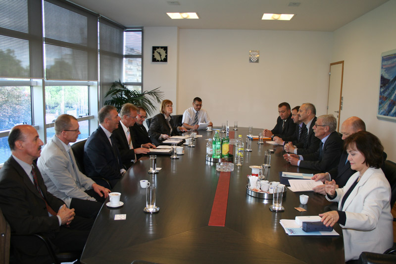 Delegacija iz Slovenije u HAK-u