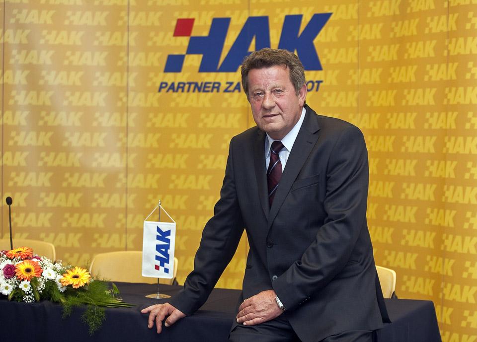 Slavko Tušek, novoizabrani predsjednik Hrvatskog autokluba