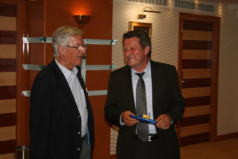 Werner Kraus predsjednik FIA Regije I i predsjednik HAK-a Slavko Tušek