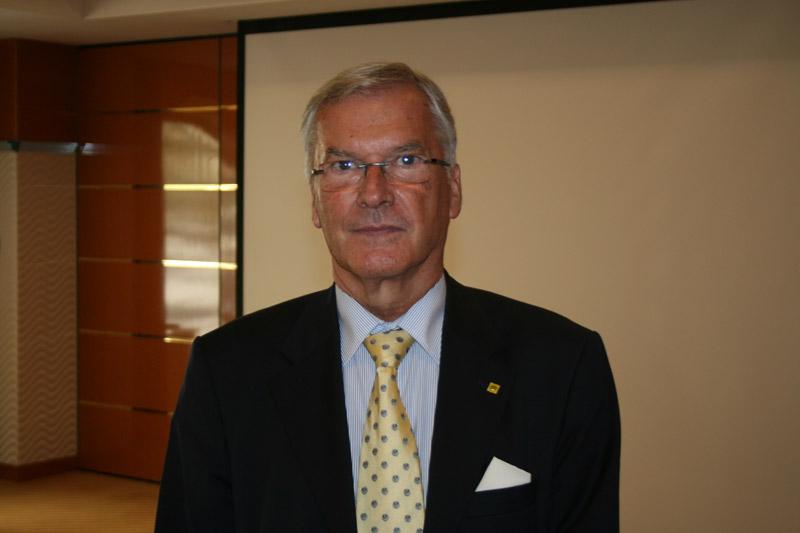 Predsjednik FIA Regije I Werner Kraus