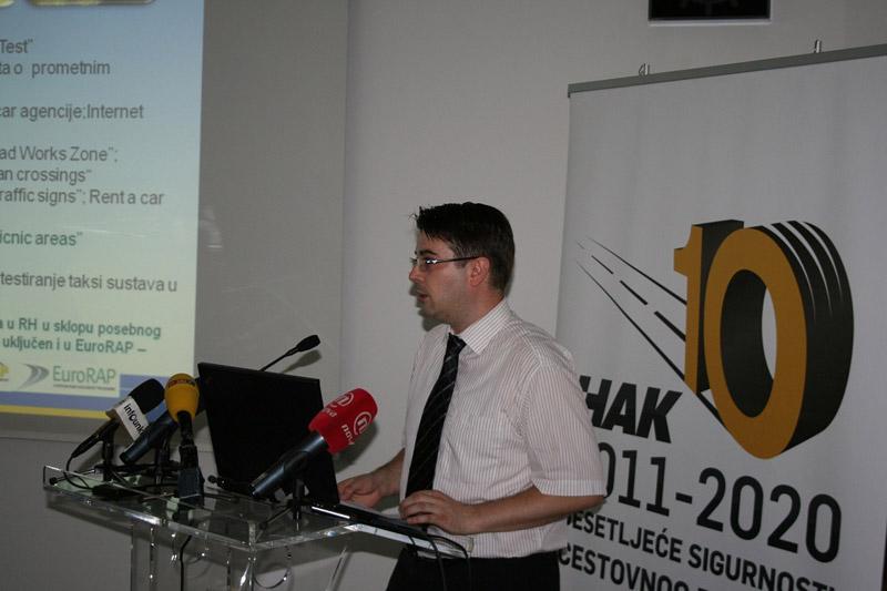 Igor Novačić, HAK, prezentirao je rezultate testiranja