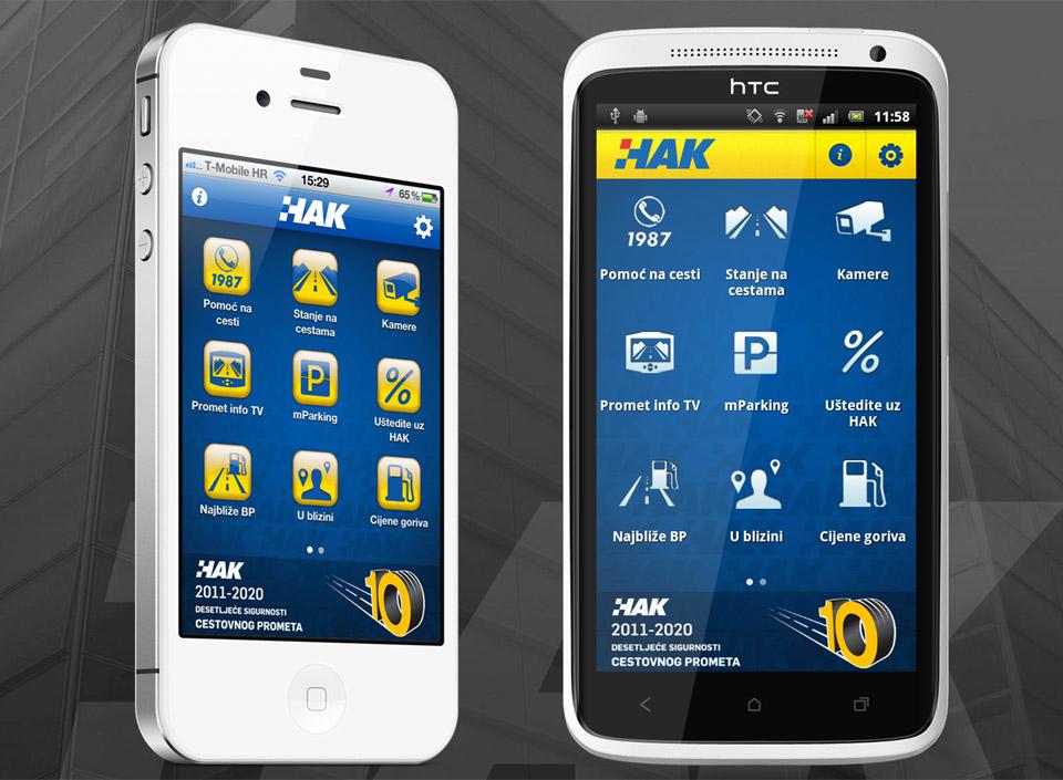 HAK-ova nova aplikacija za iPhone i Android