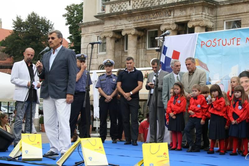 Predstavnik Hrvatskog autokluba mr. sc. Nenad Zuber