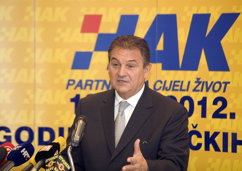 Prvi potpredsjednik Vlade RH, g. Radimir Čačić u HAK-u (2)