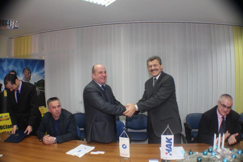 Potpisan sporazum o suradnji Obrtničke komore Istarske županije i HAK-a