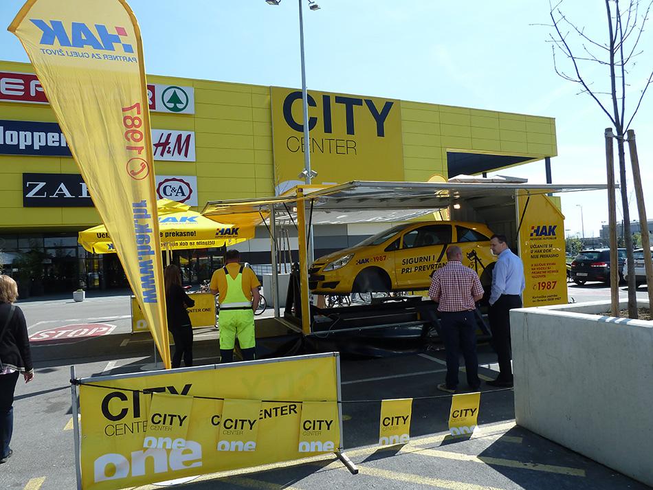 HAK na Auto-moto sajmu u City Centeru One East