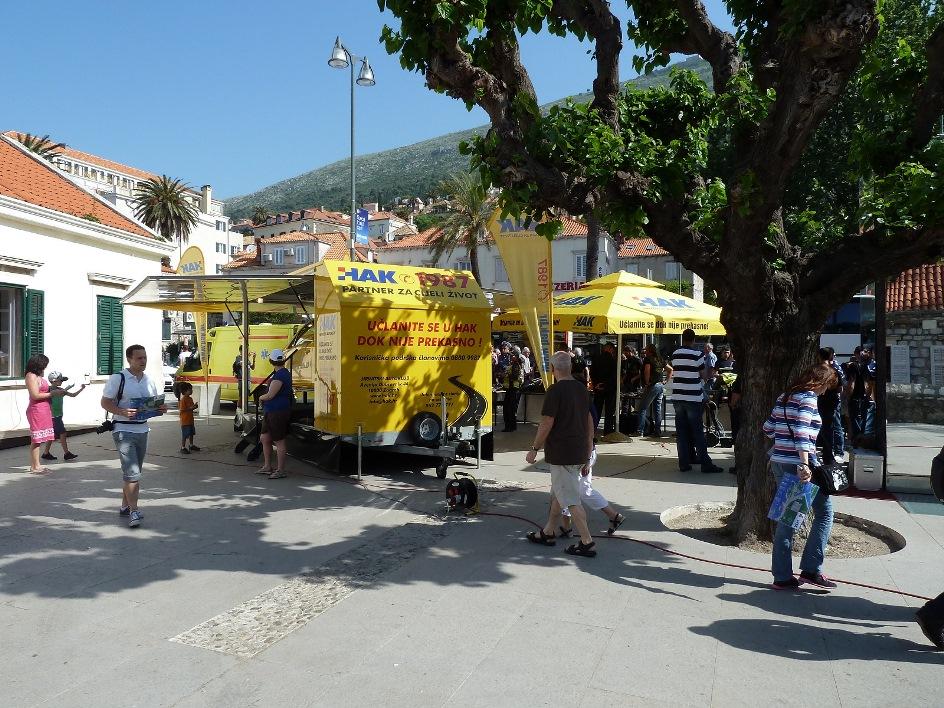 Simulator prevtanja u Dubrovniku 4. svibanj
