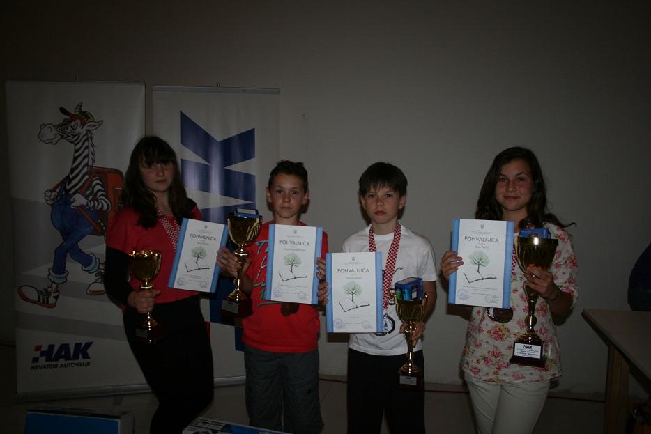 Pobjednici Državnog natjecanja u Zadru